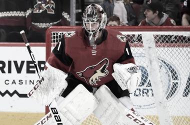 Es Comrie una apuesta al futuro? - NHL.com / Norm Hall