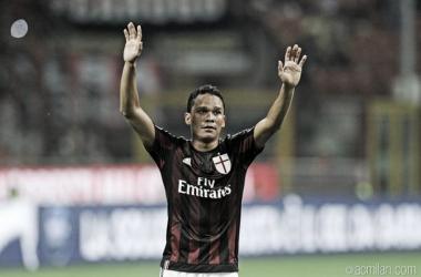Con gol de Carlos Bacca, Milán venció al Empoli