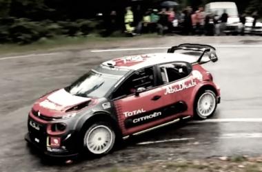 Sébastien Loeb a bordo del C3 WRC / Vía: wrc.com