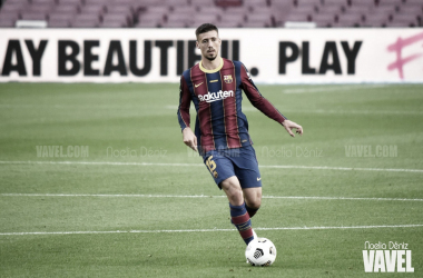 Lenglet cumple 100 partidos con el Barça