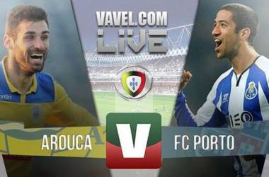 Resultado Arouca x Porto na Liga NOS (1-3)