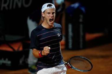 Rome Masters Schwartzman battles past Shapovalov in a Thriller to make the Final