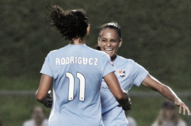 Midfielder Taylor Lytle blasted home the game's lone tally (photo courtesy of Sky Blue FC)