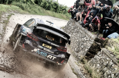 Tänak a bordo del Fiesta WRC / foto: wrc.com