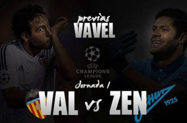 Valencia - Zenit: pólvora de retorno frente a dinamita rusa
