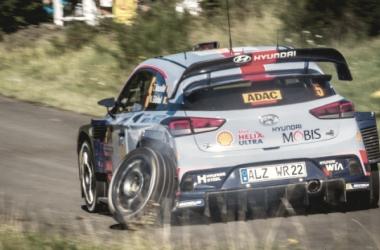 Neuville a bordo del I20 WRC / foto:wrc.com