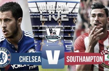 Score Chelsea - Southampton in EPL 2015 (1-3)