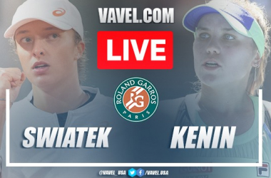 Iga Swiatek vs Sofia Kenin Live Stream and Score Updates in 2020 French Open Final