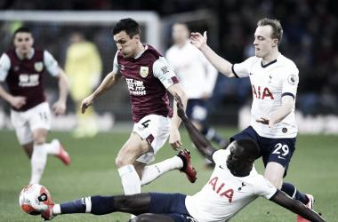 Reparto de puntos entre Burnley y Tottenham