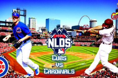 Chicago Cubs - St. Louis Cardinals 2015 MLB National League Division Series Game 1 Score (4-0)