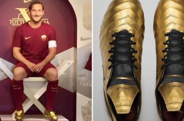 gli scarpini di Totti