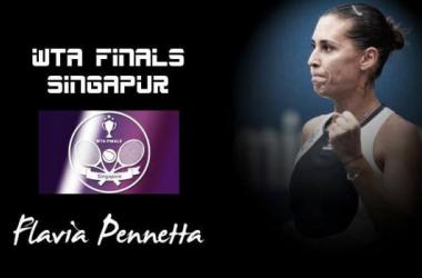 WTA Singapur. Flavia Pennetta: despedida bañada en oro