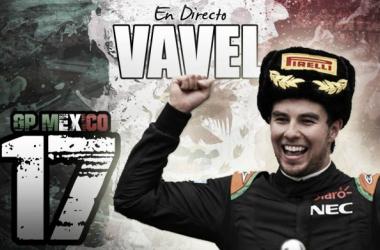 Entrenamientos Libres 3 del GP de México de Fórmula 1 2015, en vivo y en directo online. Fotomontaje:Alejandro Mateos.