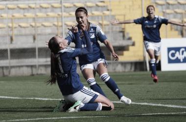 Millonarios comenzó con victoria la Liga Femenina 2020