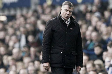 Sam Allardyce has become more than frustrated with his side's defensive frailties. (Photo: Guardian)