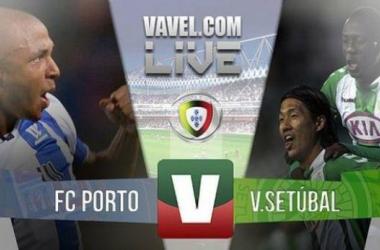 Resultado Porto - Vitória de Setúbal en Liga NOS 2015: justa victoria local (2-0)