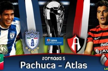 Resultado Pachuca - Atlas en Liga MX (0-1)