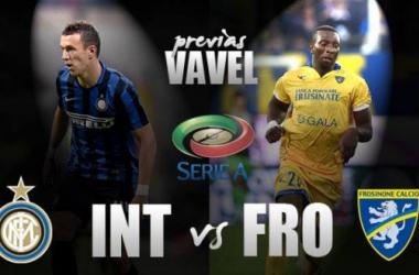 Internazionale recebe o Frosinone visando a liderança da Serie A