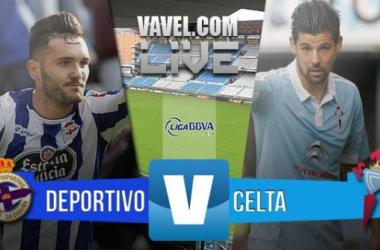 Resultado Deportivo de La Coruña 2-0 Celta de Vigo en la Liga 2015: el derbi se queda en Riazor