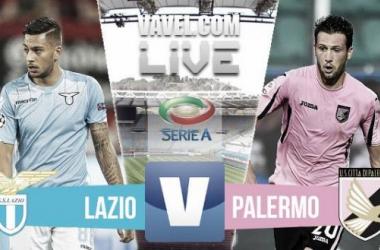 Partita Lazio - Palermo in Serie A 2015/2016 (1-1)