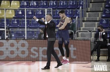 """Jasikevicius: """"Han sido capaces de meterse en el partido y no podemos permitir que ocurra"""""""