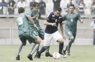 Em jogo de baixo nível técnico, Cruzeiro sai na frente, mas cede empate à Caldense