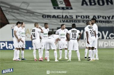 Once Caldas quedó eliminado de la Copa BetPlay
