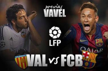 Valencia CF - FC Barcelona: la esperanza herida contra el rodillo de gala