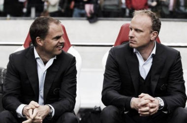 Frank de Boer is keen to keep his right hand man in Amsterdam. (Photo: Zimbio)
