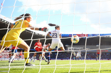 Women's World Cup: USA 3-0 Chile