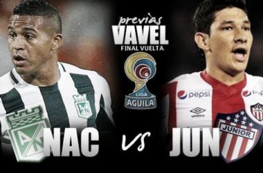 Atlético Nacional - Junior de Barranquilla: el 'verde' por la quinceava estrella
