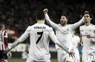 La leyenda del 7 madridista: Juanito, Butragueño, Raúl y Cristiano Ronaldo. / Foto: Apo Caballero (VAVEL)