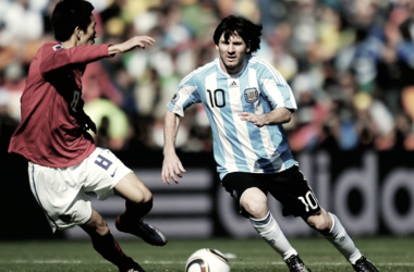 Argentina en el Grupo B de Sudáfrica 2010