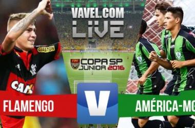 Resultado Flamengo x América-MG na Copa SP (2-1)