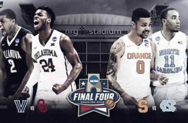 Syracuse, North Carolina, Oklahoma y Villanova, a la Final Four