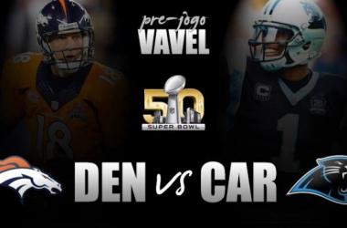 Denver Broncos e Carolina Panthers duelam no maior espetáculo esportivo do mundo. Foto: Marcello Neves/Editoria de Arte