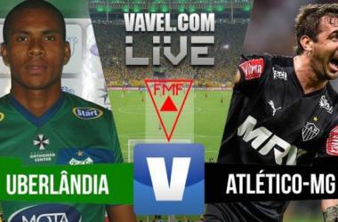 Resultado Uberlândia x Atlético-MG no Campeonato Mineiro 2016 (0-1)