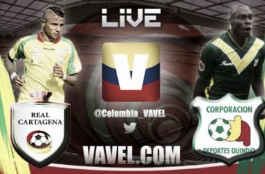 Resultado Real Cartagena - Quindío (0-1)