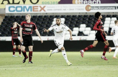Gorré has shown his quality with Swansea's under-21s in the past. | Photo: D Legakis/Athena Picture Agency