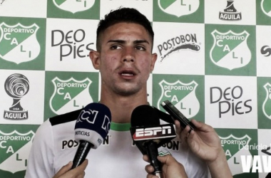 """Juan Sebastián Quintero: """"Lo importante es aprovechar las oportunidades""""."""