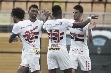 Calleri faz dois e São Paulo conquista sua primeira vitória no Paulistão