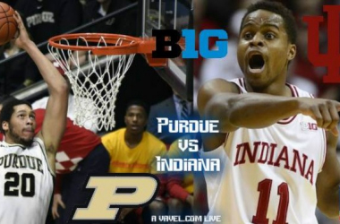 Purdue Boilermakers - Indiana Hoosiers Live Score And Result Of 2016 College Basketball (73-77)