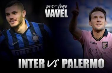 Precisando voltar a vencer, Internazionale recebe desesperado Palermo em Milão