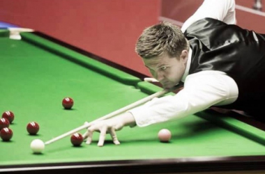 Ryan Day continued to fly the flag for Wales with victory over John Higgins. (Photo: Sporting Life)