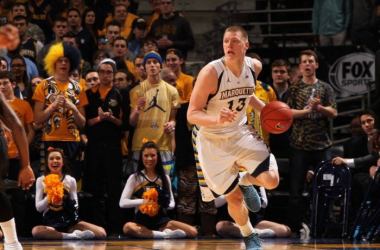 Henry Ellenson and Marquette look to finish the season strong with a win at Butler on Saturday. Photo: Marquette Athletics