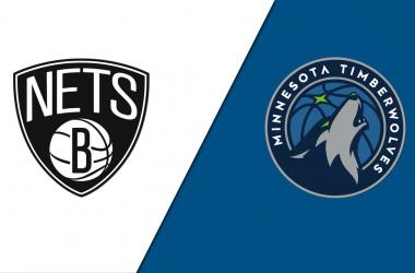 Summary and highlights of Brooklyn Nets 107-101 Minnesota Timberwolves IN NBA Preseason