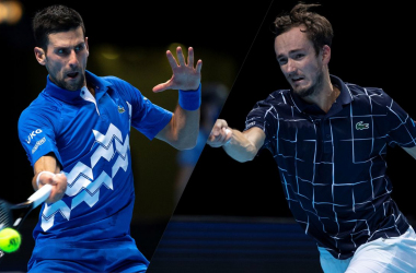 Resumen y mejores momentos del  Novak Djokovic 0-3 Daniil Medvedev