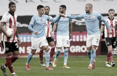 Manchester City volvió al triunfo y el Sheffield sigue hundido