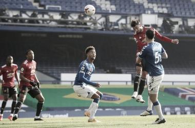Cavani e Bruno Fernandes comandam vitória de virada do Manchester United sobre Everton