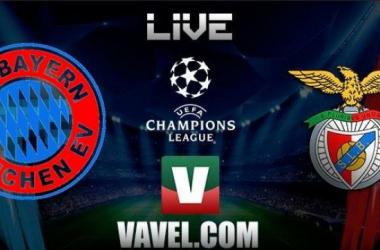 Resultado: Bayern x Benfica Liga dos Campeões 2015/2016 (1-0)